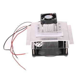DIY Thermoelectric Peltier Refrigeration CoolingSystemKitSemiconductor Cooler Conduction Module + Radiator +Cooling Fan .