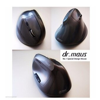 [Dr.maus]Ariel Vertical Laser Engine Wireless Mouse 2400 DPI6Buttons 2.4GHz – intl