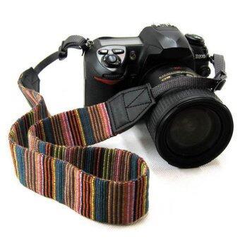 รัดคอรัดแฟชั่นกล้องสำหรับ DSLR Canon Nikon Sony Pentax (หลายสี)- (image 1)
