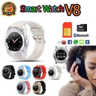 DT Smart Watch รุ่น NEW V8 รองรับการใส่ซิม mirco SD