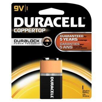 ถ่าน Duracell ถ่านอัลคาไลน์ 9V- 12 ก้อน