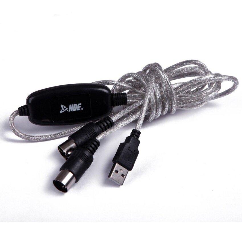 ขายถูก EastVita® USB MIDI Cable Converter PC to Music Keyboard by