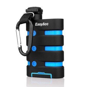 รีวิว EasyAcc พาวเวอร์แบงก์ รุ่น 9000 Three-Proofing กันน้ำกันกระแทกความจุ 9000mAh สีฟ้า