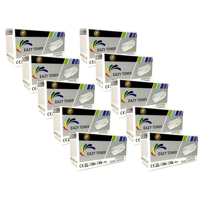 Eazy Toner for HP CE285A 85A (10 ตลับ) HP LaserJet Pro P1102/ P1102w/M1130/M1132/ M1212nf/M1217nfw (Black)
