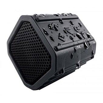 ECOXGEAR Ecopebble Rugged and Waterproof Wireless Bluetooth Speaker - Retail Packaging - Black - intl
