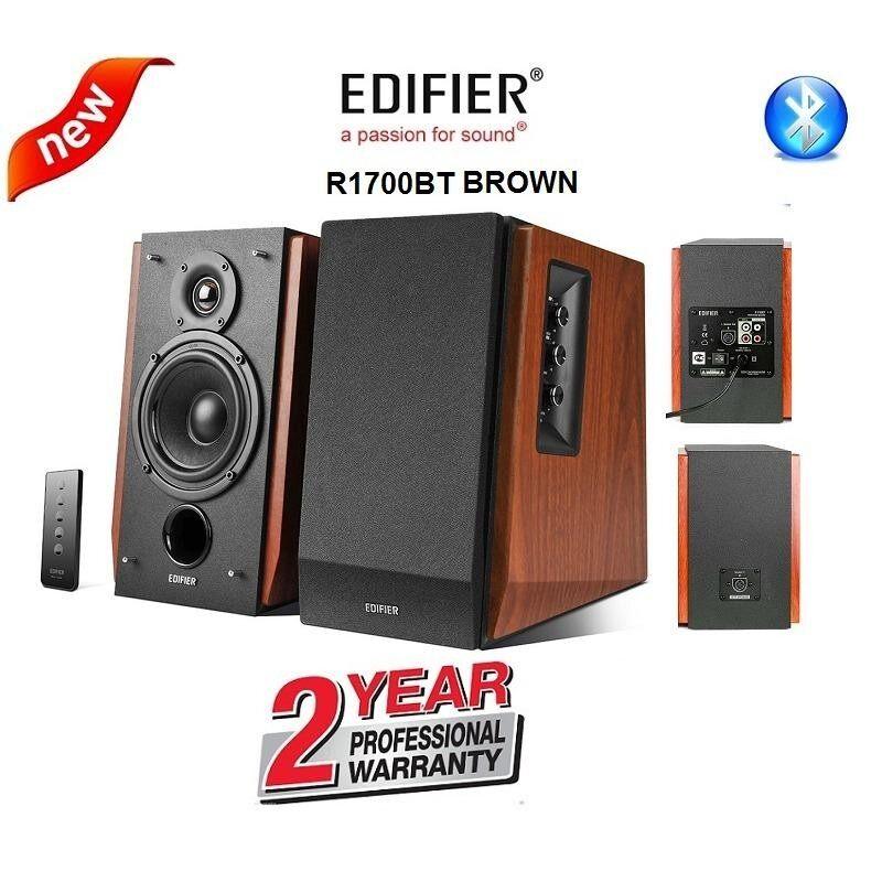 เชียงราย Edifier R1700BT Bluetooth Multifunctional speakers 2.0 ch. for your everyday needs  warranty 2 years ลำโพงเสียงคุณภาพ ในราคาสุดคุ้ม รับประกันศูนย์ 2 ปี