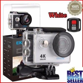 EKEN H9R 4K (สีขาว) พร้อมรีโมท กล้องแอ็คชั่น แอ็คชั่นเเคม ACTİON CAMERA กล้องติดหมวก