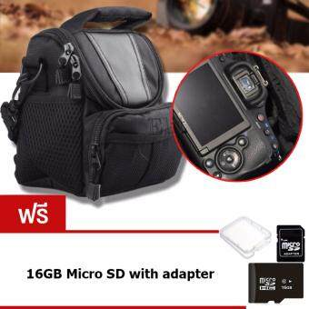 Elit กระเป๋ากล้อง กระเป๋าสะพายใส่กล้อง DSLR กล้อง Mirrorless Canon, Nikon, Sony, Panasonic, Olympus, Fuji รุ่น CMR02-DF