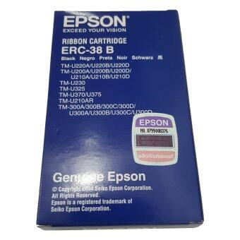 ประกาศขาย Epson ตลับผ้าหมึก Dot Matrix รุ่น ERC-38 B