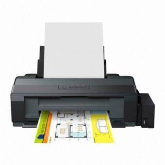 Epson เครื่องพิมพ์อิงค์เจ็ท รุ่น L1300 (Black) พร้อมหมึกแท้ 4 สี