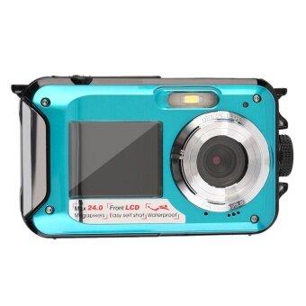 ERA 24MP Double Screen 1080P Underwater Digital Camera - intl