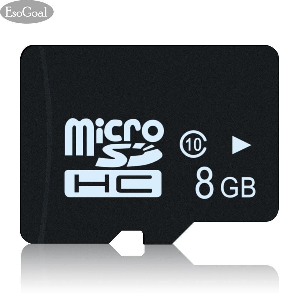 Esogoalเมมโมรี่การ์ด ความจุ 8GB สำหรับสมาร์ทโฟน  (UHS-1 Class 10 Certified 80MB/S)