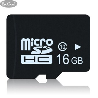 EsoGoal Professional Micro SD 16GB Micro SDHC Memory High Speed 16 GB Card for Smartphone (UHS-1 Class 10 Certified 80MB/S) - intl