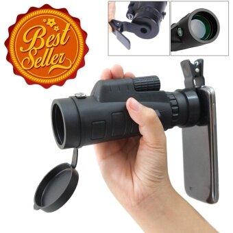 EVERLAND กล้องส่องทางไกลสำหรับมือถือทุกรุ่น 35X50 กล้องส่องทางไกลตาเดียว