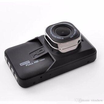 FHD กล้องติดรถยนต์ WDR และ Parking Monitor บอดี้โลหะ จอใหญ่ 3.0นิ้ว เมนูไทย รุ่น T626SE (เวอร์ชั่น3) ถ่ายกลางคืนสว่างกว่าเดิม (Black) - มีคลิปวีดีโอรีวิว เปรียบเทียบกับรุ่นอื่น (image 1)