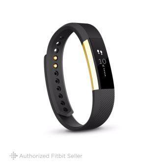 FITBIT ALTA GOLD BLACK LARGE