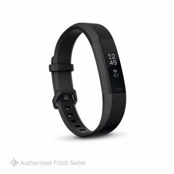 FITBIT ALTA HR BLACK GUNMETAL LARGE