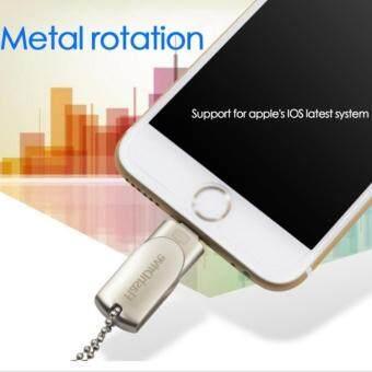 Flash Drive 128GB USB 3.0 Flash Drive Pen drive HD memory sticki-Flash drive for iPhone PC. + OTG + OEMหูฟัง + Ring Stent