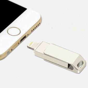 Flash Drive 64GB USB 3.0 Flash Drive Metal Pen drive HD memorystick i-Flash drive for iPhone PC.