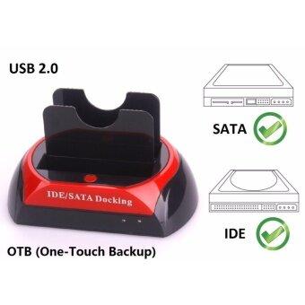 """โปรโมชั่นพิเศษ For HDD Docking Station IDE SATA 2.5""""& 3.5""""Dual Hard Drive DiskUSB 2.0 Dock - intl"""
