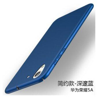 For Hua wei Honor 5A/Y6II 360 degrees Ultra-thin PC Hard shell phone cover case/Blue - intl