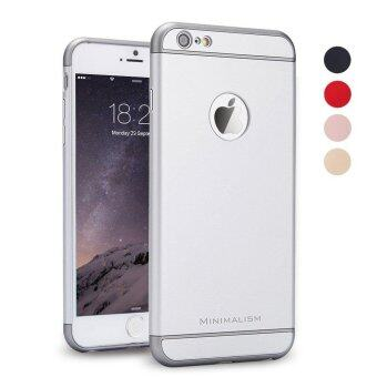For iPhone 6s case Luxury Matte Hard 360 Full Protection Case Foriphone 6 6S Removable 3 in 1 Back Cover for iphone6 - intl