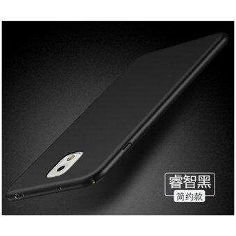 For S amsung Galaxy Note3/N9006 360 degrees Ultra-thin PC Hard shell phone cover case/Black - intl