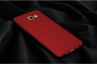 For Samsung Galaxy A7 (2016) A710 Full Body Hard PC Smooth GripBack Case Cover (Red) - intl - 3