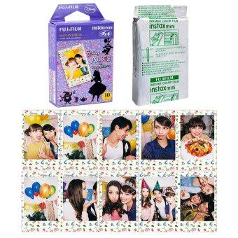 Fujifilm Instax Mini Alice in Wonderland Instant 10 Film for Fuji7s 8 25 50s 70 90 / Polaroid 300 Instant Camera / Share SP-1Printer