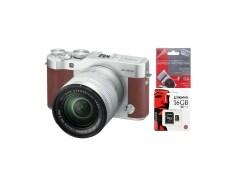 Fujifilm X-A3 kit 16-50 mm Brown ประกัน EC-MALL+SD 16GB CLASS10 +ฟิล์มกันรอย