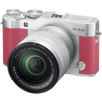 Fujifilm X-A3 Mirrorless 16-50mm Lens (Pink)