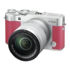 Fujifilm X-A3 Mirrorless 16-50mm Lens (Pink)(ประกันศูนย์)