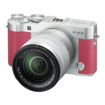 Fujifilm X-A3 Mirrorless 16-50mm Lens (Pink)(ประกันศูนย์)
