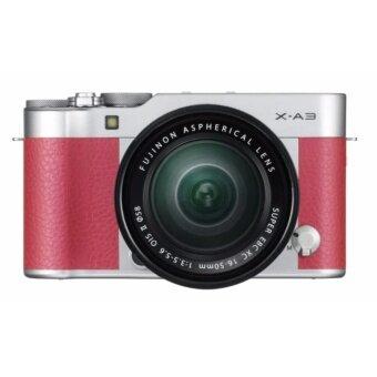Fujifilm X-A3 Mirrorless 16-50mm Lens (PINK) ประกันร้าน