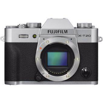 Fujifilm X-T20 Mirrorless Digital Camera - [Body Only Silver]