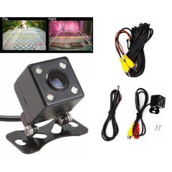 G2G กล้องมองหลังติดรถยนต์ สำหรับใช้ดูภาพตอนถอยหลัง สีดำ จำนวน 1ชิ้น