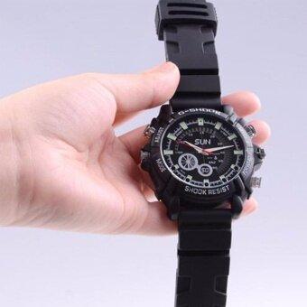GadgetZ กล้องนาฬิกา ข้อมืออินฟาเรด 8GB Full HD - สีดำ (image 3)