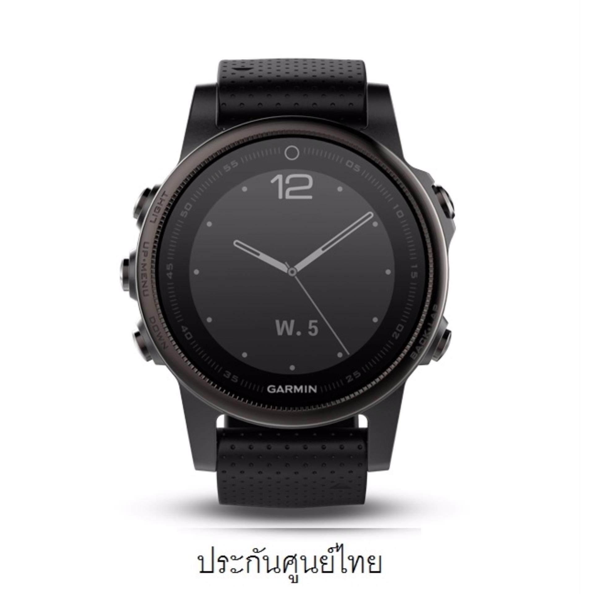 กระบี่ Garmin fenix 5s Sapphire Black Edition