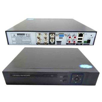 Gateway AHD CCTV ชุดกล้องวงจรปิด 4 กล้อง HD AHD KIT 1.3 Mp (White) (image 1)