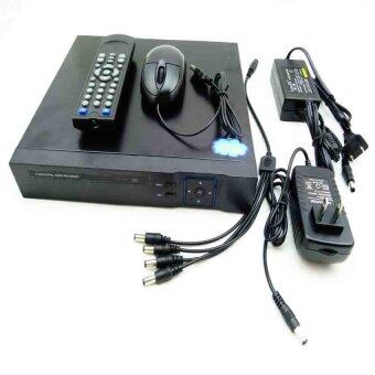 Gateway AHD CCTV ชุดกล้องวงจรปิด 4 กล้อง HD AHD KIT 1.3 Mp (White) (image 3)