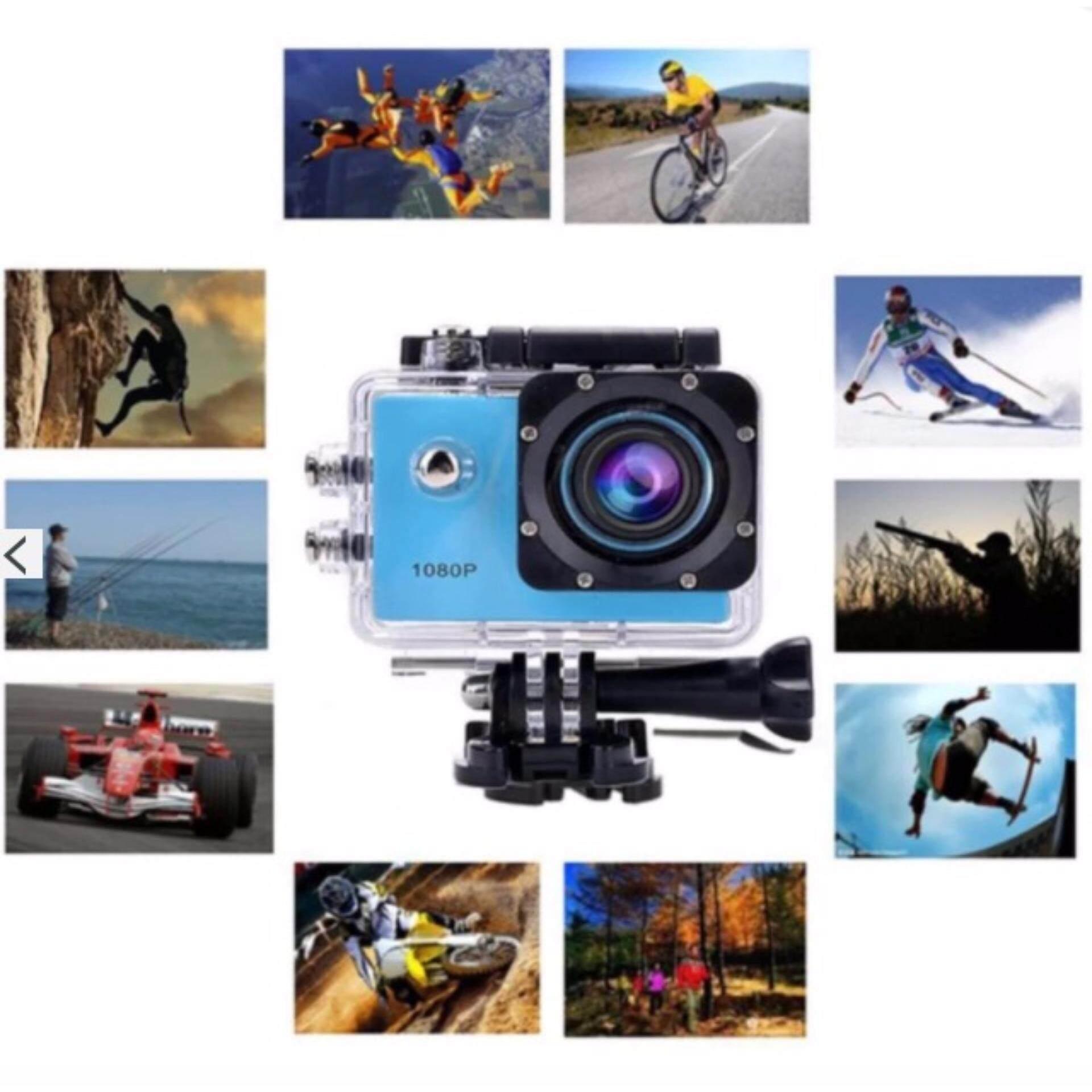 GD MOBILE Action Camera กล้องกันน้ำ 2.0 HD DV 1080p Sports Camera No Wifi JX 100% ของแท้เท่านั้น