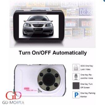 GD MOBILE FHD กล้องติดรถยนต์ 2กล้อง หน้า-หลัง car cameras