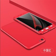 Luxury 360 Degree Full Body Protection Cover Case For Oppo A57 52 Inch With Tempered Glass