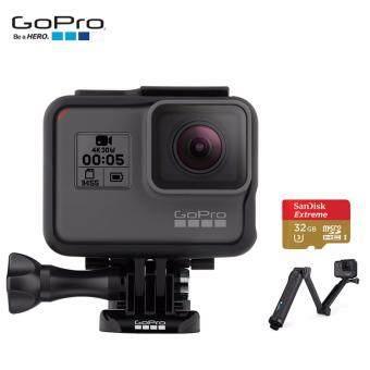 GoPro Hero 5 พร้อม ไม้เซลฟี่ 3 Way Grip และ Memory 32 GB