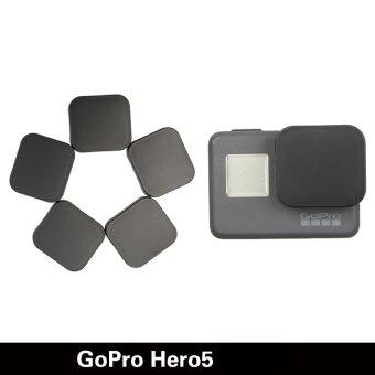 Gopro Hero 5กล้องอุปกรณ์เครื่องป้องกันร้อนขายฝาครอบเลนส์เคสสำหรับมืออาชีพไปHero 5 อุปกรณ์ (สีดำ) (image 1)