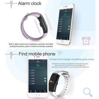 H1 Wristband Heart Health Monitor Smart Watches Bluetooth Blood Pressure Monitor Smart Band IP68 Water Proof Swim Bracelet Fitness Tracker - intl - 5