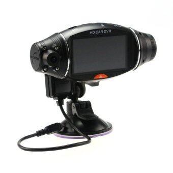 HD DVR Vehicle Blackbox DVR รุ่น GP400 กล้องติดรถยนต์ (Black)