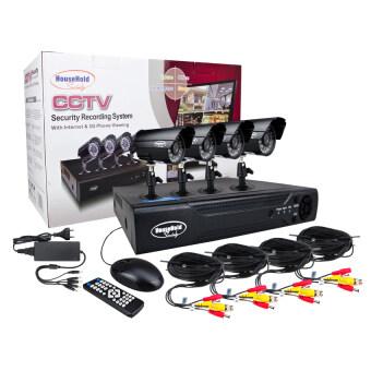 HHsociety กล้องวงจรปิด CCTV รุ่น E-CH7004-4