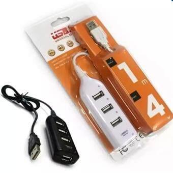 HI-SPEED USB 4 Port 480Mbps USB 2.0 (White)