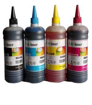 2561 น้ำหมึก Hi-toner 500ml 4 สี สำเครื่องพิมพ์ canon inkjet ทุกรุ่น